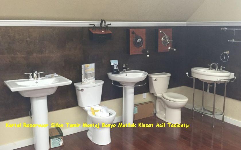 Kartal Rezervuar Sifon Tamir Montaj Banyo Mutfak Klozet Acil Tesisatçı
