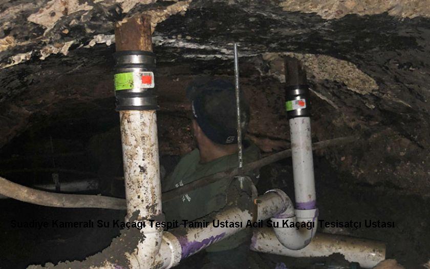 Suadiye Kameralı Su Kaçağı Tespit Tamir Ustası Acil Su Kaçağı Tesisatçı Ustası