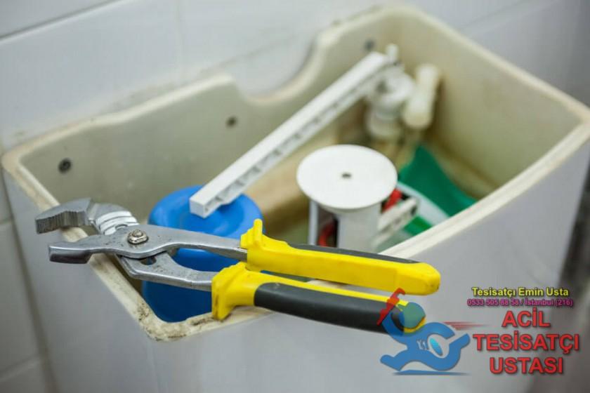 Klozet Tuvalet Rezervuar İç Takım Değişimi