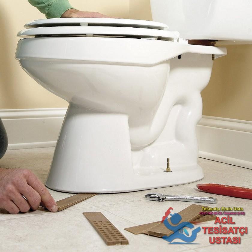 Tuvalet Montajı Sallanan Klozet Tamiri