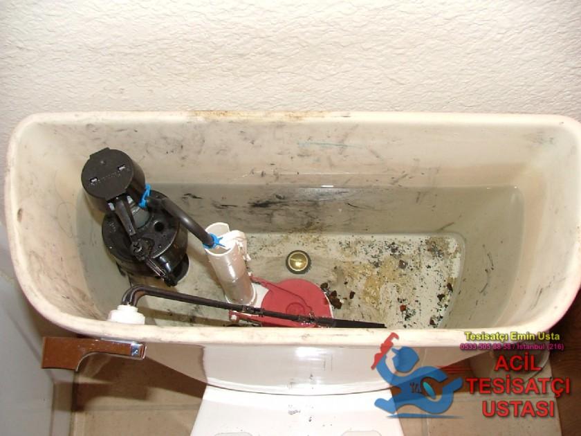 Tuvalet rezervuar tamiri sifon arızası