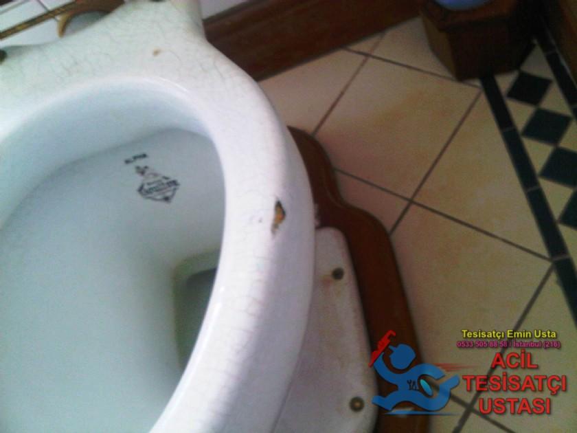 Tuvalet Tamiri Çatlamış Klozet